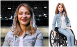 Outra mulher inspiradora é a ciclista Kristina Vogel, bicampeã olímpica de ciclismo (2012 e 2016), que também foi homenageada. Ela sofreu um acidente treinando e ficou tetraplégica