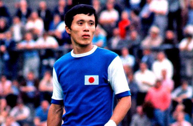 Kunishige Kamamoto: 80 gols em 84 jogos pela seleção do Japão.
