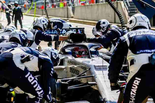 Kvyat foi um dos que melhor cuidou dos pneus durante a corrida