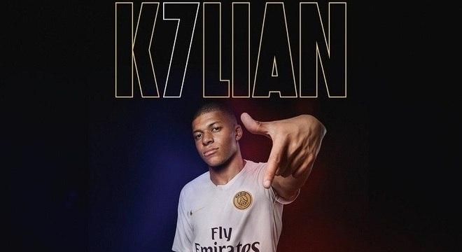 Mbappé será o novo camisa 7 do Paris Saint-Germain a partir desta temporada