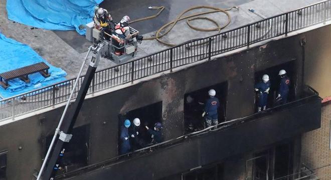 Acusado de ataque no Japão sofreu queimaduras no corpo  e está internado