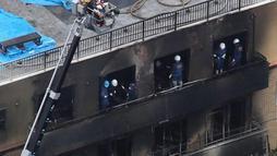 Suspeito de incêndio criminoso no Japão era recluso e briguento (EPA-IJI Press via EFE / 19.7.2019)