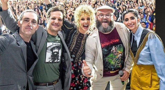 Berlim, Palermo, Estocolmo, Helsinque e Nairóbi falaram sobre sucesso da série
