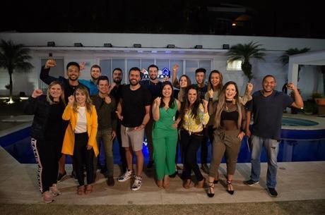 Na 1ª temporada, 12 participantes enfrentaram desafios
