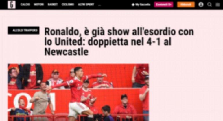 La Gazzetta dello Sport - Cristiano Ronaldo
