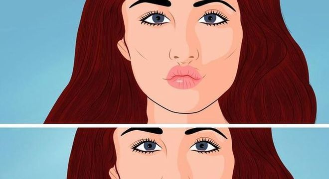 Lábios carnudos