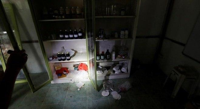 Laboratório de metanfetamina do Sam Gor que foi invadido em maio