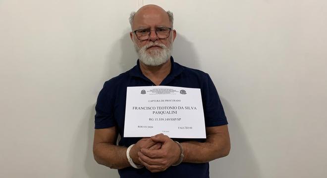 Pasqualini estava na lista de procurados da polícia paulista