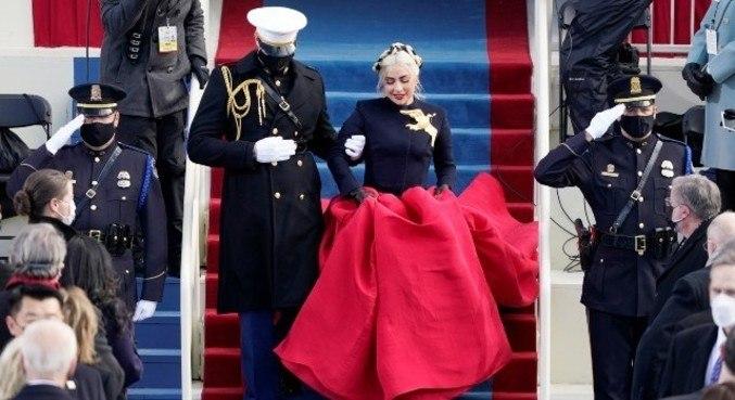 Lady Gaga como rainha ou presidente foi um dos memes da posse