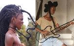 A artista e influenciadora da Costa do Marfim Laetita KY, de 24 anos, é conhecida nas redes sociais por sua expressão criativa através dos seus cabelos. Seja para comentar os direitos das mulheres, exaltar a beleza dos fios crespos ou apenas se divertir, as longas tranças de Laetitia são o instrumento principal de sua arte e faz um verdadeiro sucesso no Instagram