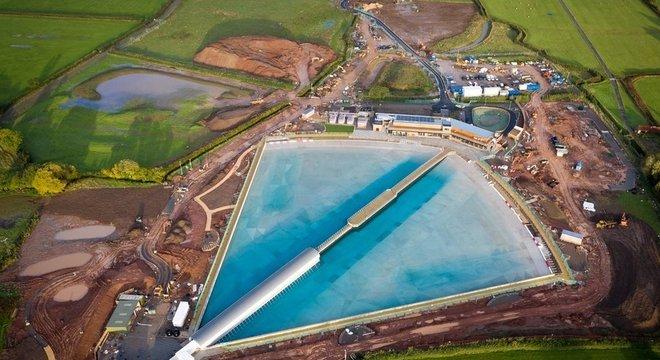 O complexo ocupa uma área de mais de 300 mil metros quadrados