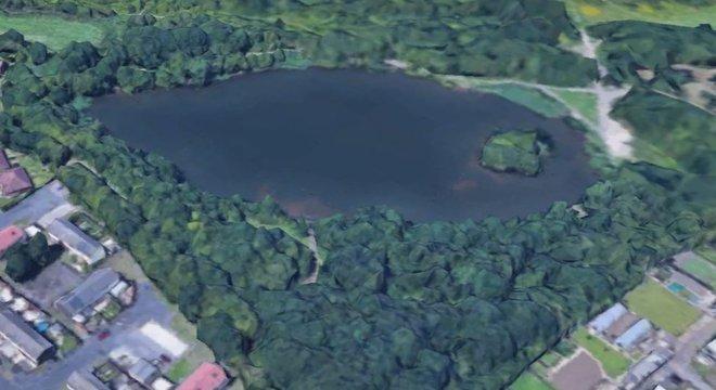 Os peixes foram encontrados no lago Martinwells