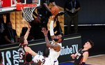 O Los Angeles Lakers bateu oMiami Heat no jogo 6 das Finais e faturou a temporada 2019-20 da NBA