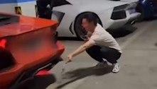 Carrão superaquece após dono fazer churrasco no escapamento