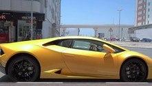 Lamborghini recém-comprada é confiscada antes de chegar em casa
