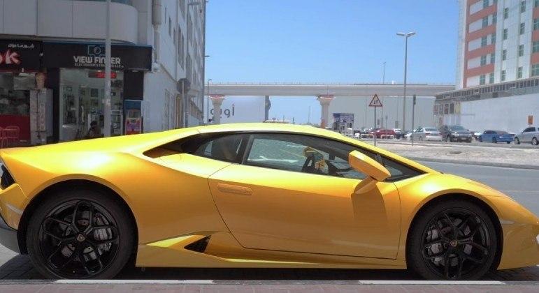 Lamborghini recém-comprada foi confiscada antes de chegar em casa (foto ilustrativa)