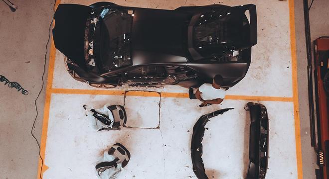 Prejuízo de Lamborghini que ficou submersa pode chegar a R$ 600 mil