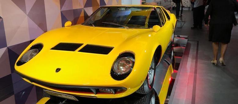 Miura, o carro aerodinâmico que se tornou referência nos anos 1960