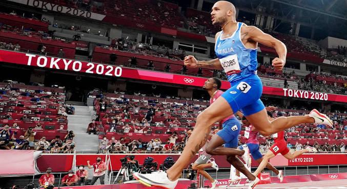 Lamont Marcell Jacobs é o primeiro vencedor da era-pós Usain Bolt