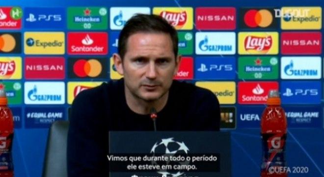 Lampard - Entrevista