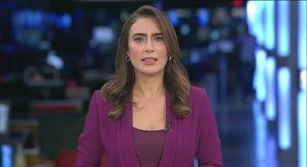 """Lana Canepa, apresentadora do """"Jornal da Band"""""""