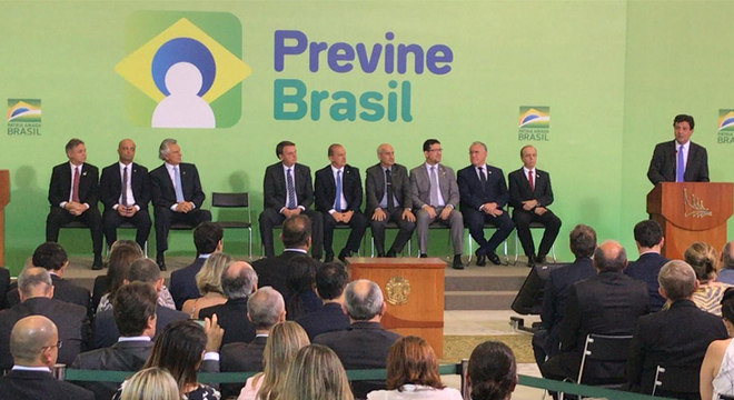 Lançamento do programa Previne Brasil