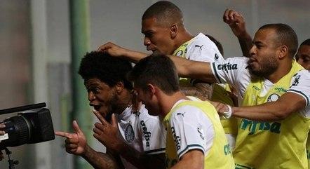 Palmeiras venceu o América-MG por 2 a 0