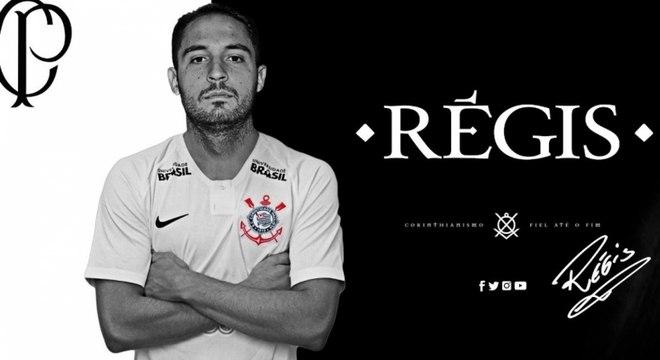 Régis foi anunciado pelo Corinthians nesta sexta-feira