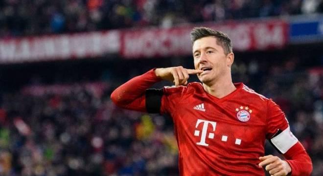 Lewandowski é a principal arma do Bayern no comando de ataque