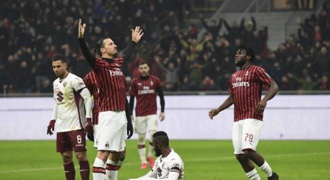 Ibrahimovic voltou ao Milan após experiência no futebol dos EUA