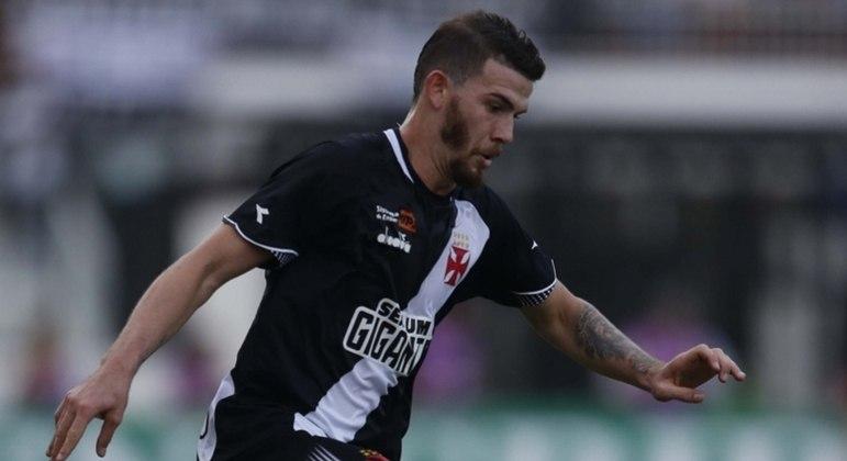 Luiz Gustavo atuou pelo Vasco antes de se transferir ao Cuiabá