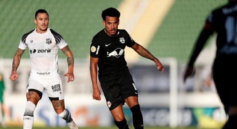 Jogo entre Bragantino e Ceará foi bastante disputado no meio de campo