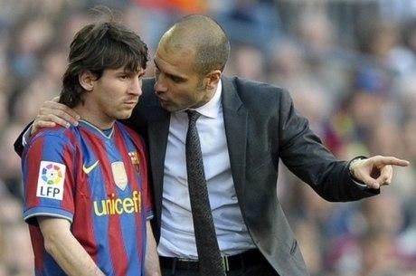 Messi viveu grandes momentos com Guardiola