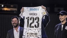 Roger Guedes explica escolha pelo número 123 no Corinthians