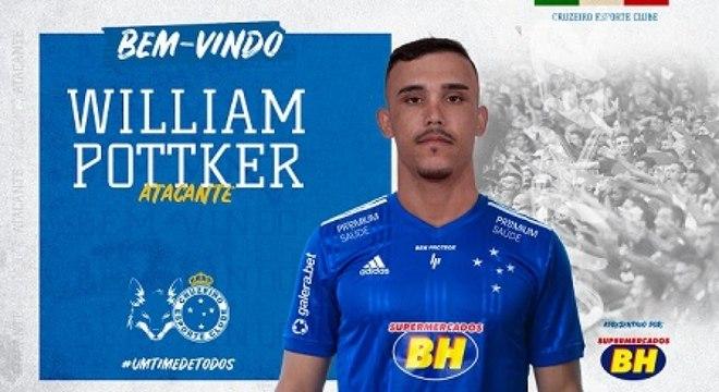 Ex-Inter e Ponte Preta, Potker é o novo reforço do Cruzeiro