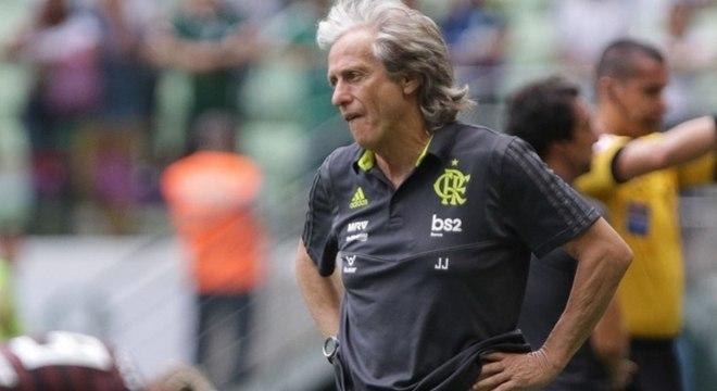 Jorge Jesus se sagrou campeão brasileiro com o Flamengo