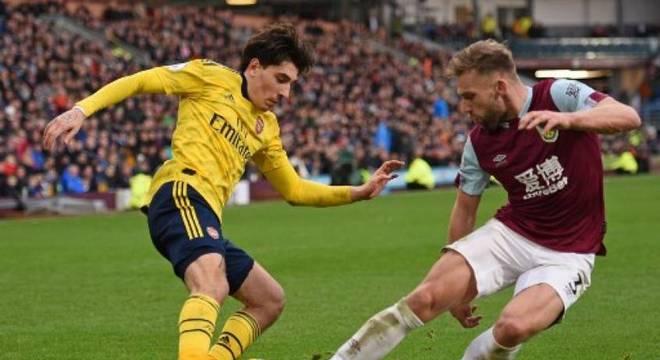 Arsenal e Burnley empatam em 0 a 0 pela 25ª rodada do Inglês