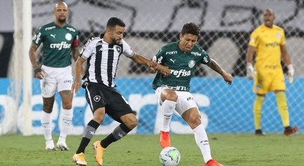 Palmeiras vai com time misto contra Botafogo