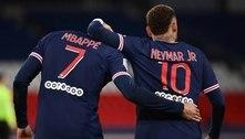 Mbappé sobre protagonismo no PSG: 'Neymar é centro do projeto'