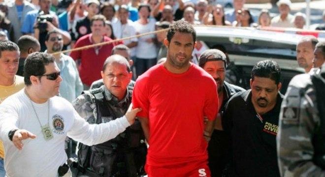 Goleiro Bruno foi condenado pelo assassinato de Eliza Samudio
