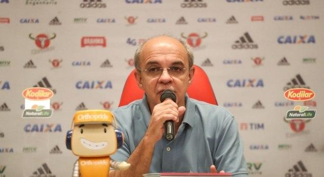 Bandeira comandou o Flamengo nos últimos seis anos