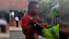 'Guarín agrediu policiais e médicos ao ser preso', conta delegado colombiano