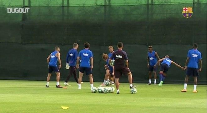 Sete membros do Barcelona haviam testado positivo para covid-19