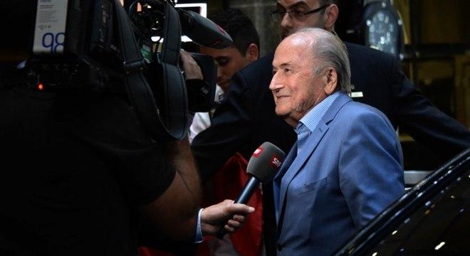 Joseph Blatter ficou muitos anos como presidente da Fifa