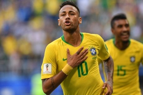 Neymar brilhou na vitória do Brasil sobre o México