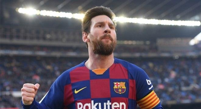 Lionel Messi está insatisfeito com o momento vivido pelo Barcelona