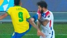 Expulsão de Gabriel Jesus na Copa América vira meme nas redes sociais ;veja os melhores