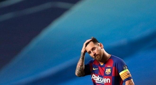 Lionel Messi mantém desejo de sair do Barcelona