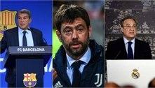 Barcelona, Juventus e Real Madrid ainda querem criar Superliga