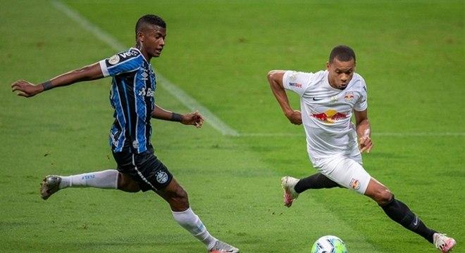Grêmio e Red Bull Bragantino fizeram jogo morno em Porto Alegre